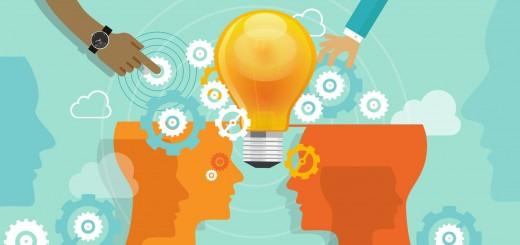 corporate company innovation collaboration people merger idea